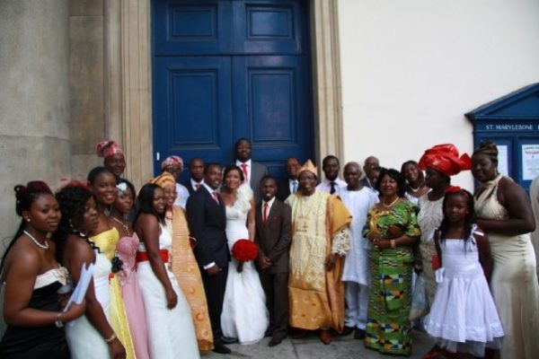 Ronke & Gideon Wedding Bella Naija11