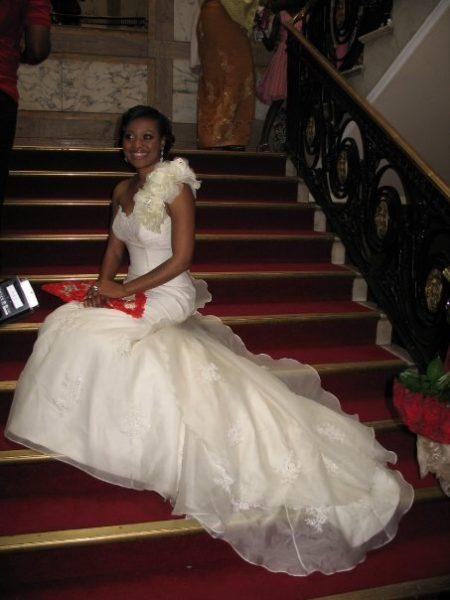Ronke & Gideon Wedding Bella Naija14