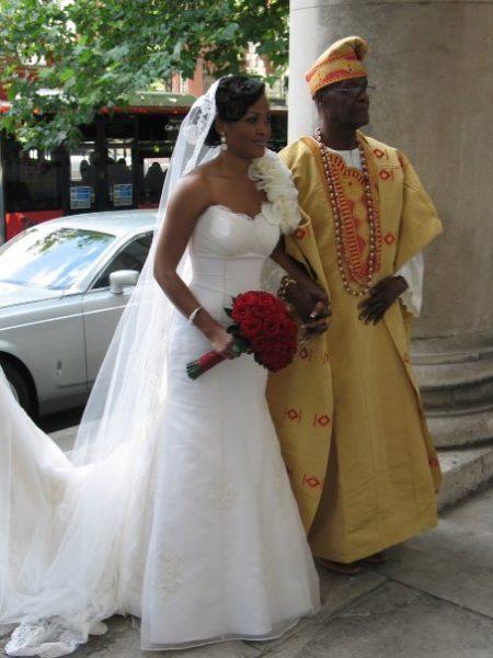 Ronke & Gideon Wedding Bella Naija2