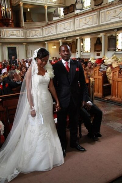 Ronke & Gideon Wedding Bella Naija5