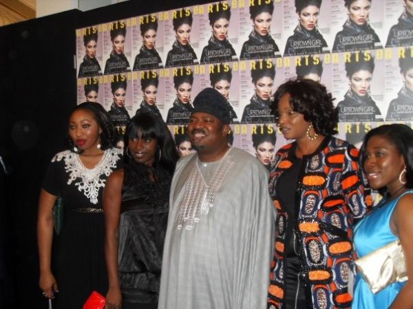 The ThisDay Style Team pose with ARISE publisher Nduka Obiegbena