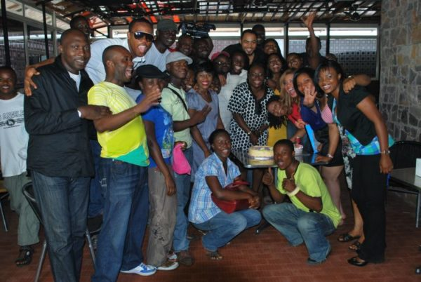 The 'Nollywood Hustler' cast and crew