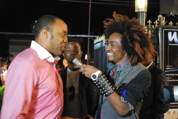 Kalu Ikeagwu joins in the action