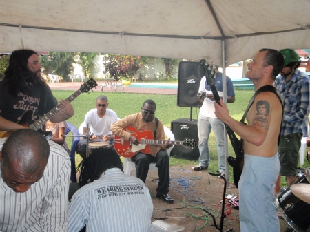 Flea at Rehersal Session for Felabration