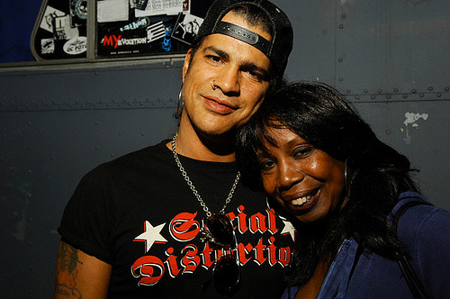 Slash and Mum; Ola Hudson