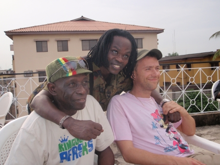 Tony Allen,Baba Maal and Damon Albarn at Felabration 2008
