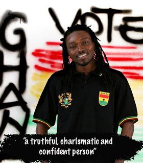 Wayoe from Ghana - OUT!