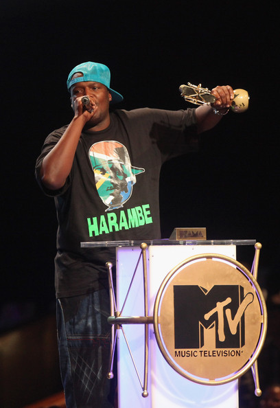 South Africa's HHP won the Best Video award. Wyclef called HHP back onstage to commend him on his work