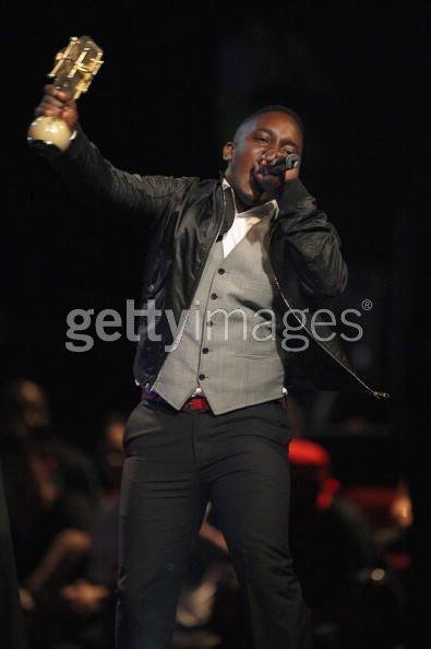 MI was one of the night's big winners. He won 2 awards - Best New Act and Best Hip Hop