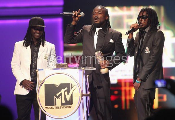 Ghana's Samini won the Best Performer award