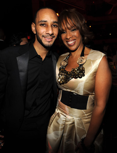 Swizz Beatz with Gayle King