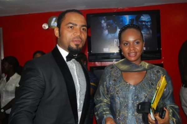 Ramsey Nouah with co-star Tosin Sido