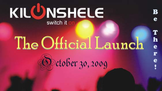 Kilonshele Launch Banner
