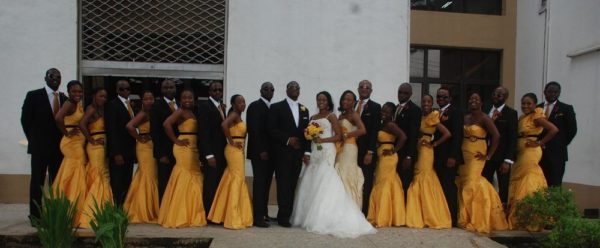Lamide Lawson and Wale Shonekan White Wedding Bella Naija077
