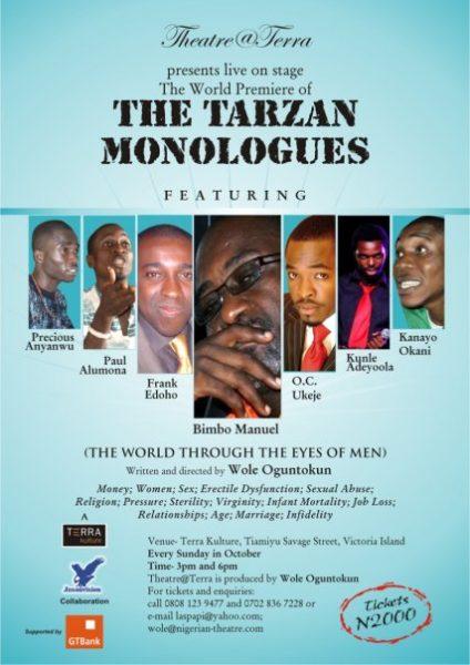 Tarzan Monologues