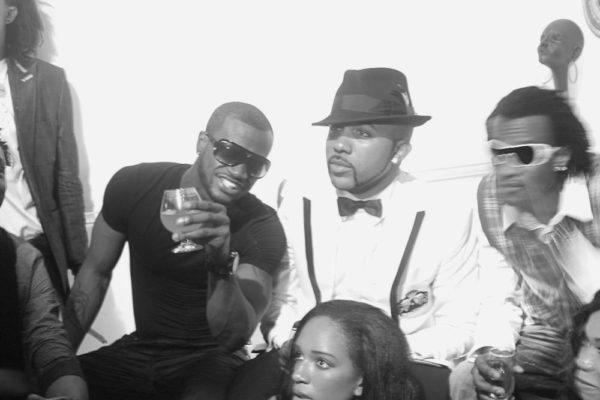 Getting the 'Lagos Party' started with Peter and Paul of P-Square