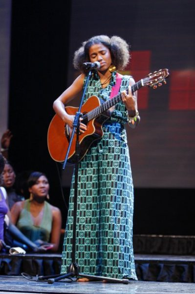 Nneka performs