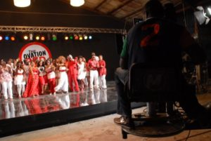 Ovation Red Carol Video Shoot