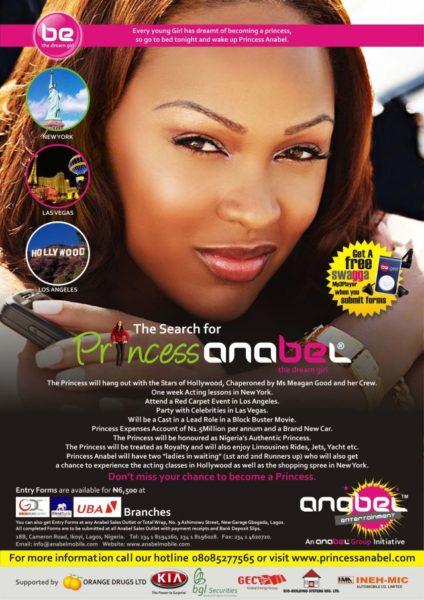 Princess Anabel Poster