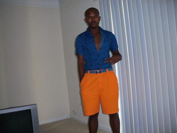 Shirt; Topman; Shorts: Zegna; Belt: Hermes