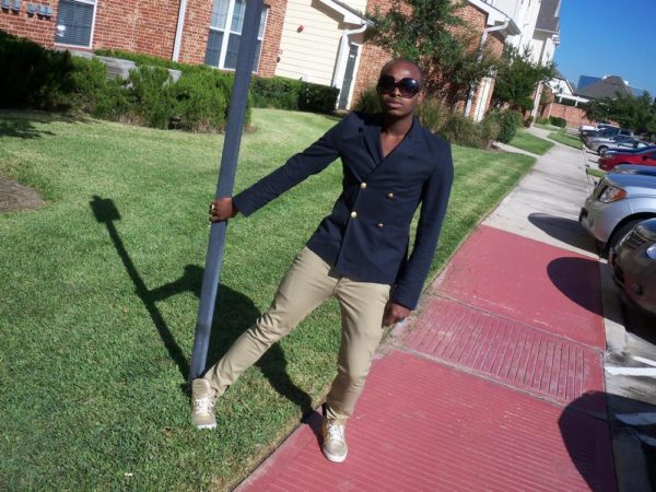 Blazer: Topman; Jeans: Levi's; Shoe:Supra; Sunglasses; Urban Outfitters
