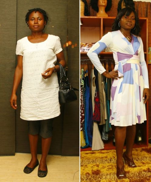 Anthonia Before & After