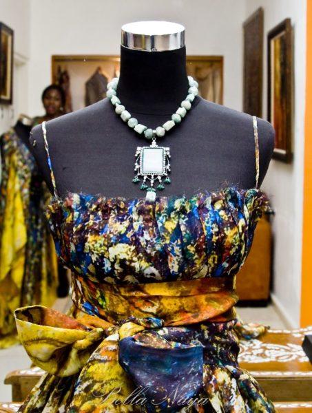 BN Red Carpet Fab Tiffany Amber Fashion & Art Exhibition Bella Naija0006