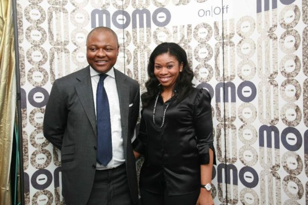 Mohammed Asibelua with his wife Fati Asibelua, Creative Director of Momo