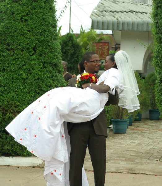 OSEWA ODIGIE 9 taking the bride home