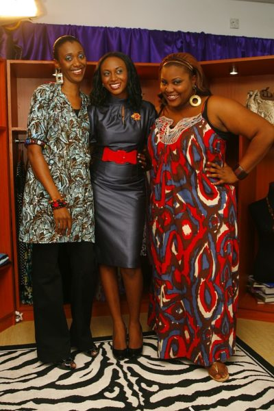 Eva with Style ME hosts, Isis & Wana