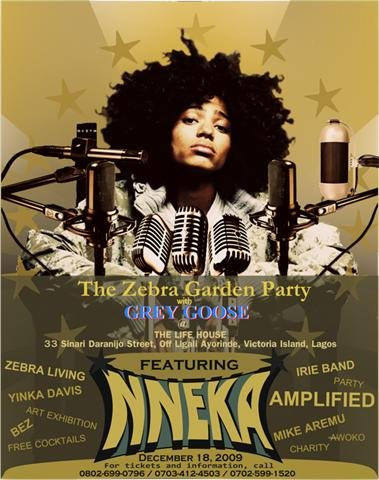 Zebra Nneka Garden Party