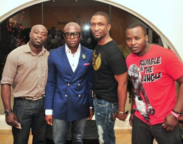 Designer FAB, Korede Roberts of Fusion with Darey & Eldee