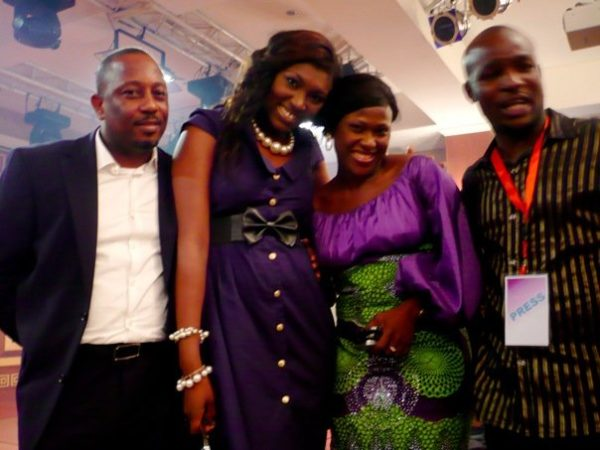 Uche Jombo, one of the stars of the movie with Basorge Tariah Jnr and Ufuoma Ejenobor