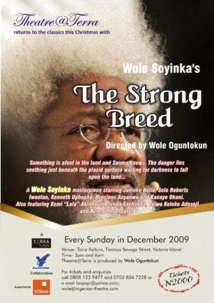 the strong breed by wole soyinka The strong breed – wole soyinka the strong breed – wole soyinka wole soyinka born birthplace 1934 nigeria another play by soyinka the lion and the jewel.