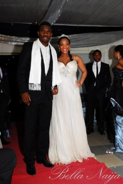 Adaeze Igwe Joseph Yobo Wedding Bella Naija0001