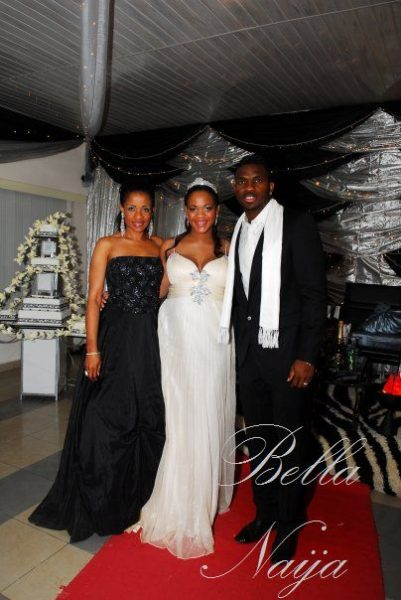Adaeze Igwe Joseph Yobo Wedding Bella Naija10001