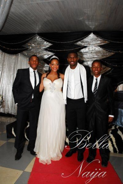 Adaeze Igwe Joseph Yobo Wedding Bella Naija10002