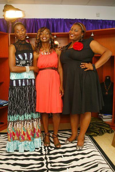 Kemi Olurinola with Isis and Wana