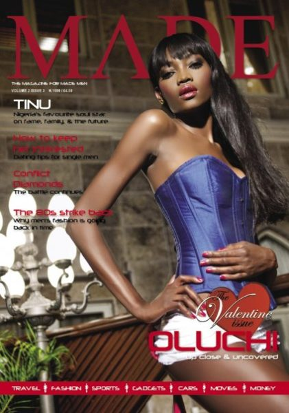 Oluchi brings the love to the cover of MADE