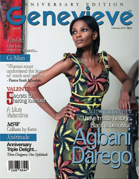 Agbani Genevieve Magazine February Cover