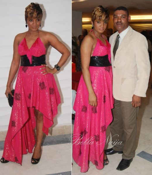 Omotola with hubby, Captain Ekeinde
