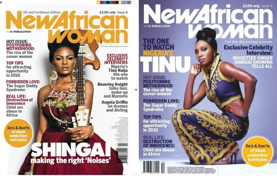 Stylish, Cosmopolitan, African: Shingai Shoniwa & Tinu cover