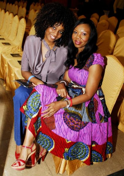 Funmi Victor-Okigbo of No Surprises with Betty Irabor of Genevieve Mag