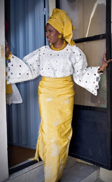 Babi Balogun & Motunrayo Awosika Wedding Trad Bella Naija0006
