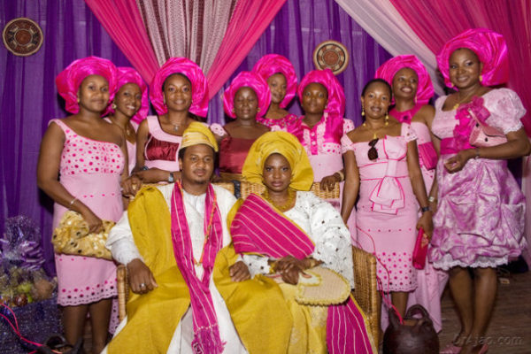 Babi Balogun & Motunrayo Awosika Wedding Trad Bella Naija0011