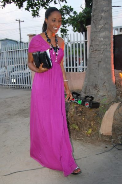 In FRENZII Asymmetric Dress
