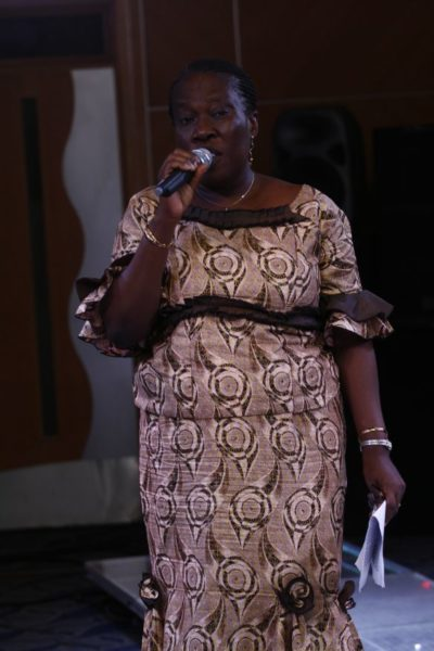 Mrs. Fadairo - Rep. of the Hon. Commissioner of Women Affairs and Poverty Alleviation