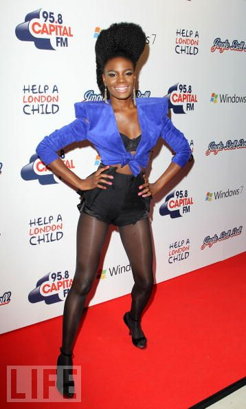 Shingai Shoniwa attends the Capital FM Jingle Bell Ball- Day 1 at 02 Arena on December 5, 2009 in London, England.