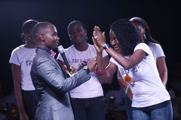 "Teju Babyface and ""Miss True Love"" Contestants - The Contest was held was fun - Contestants includes Ofunneka"