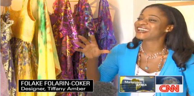 Nigerian Fashion Spotlighted On Cnn Folake Folarin Coker Of Tiffany Amber Bola Atta Of True Love And Tailor Made Fashion Explored Bellanaija